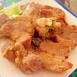 塩麹で下味!豚肉ロースのソテー