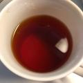 おろし生姜とはちみつゆず大根入り♡あったかい紅茶