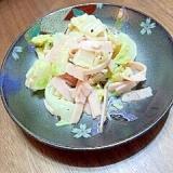 白菜消費!白菜サラダ