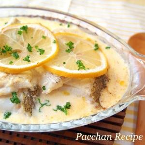 タラとポテトのレモン塩麹グリル