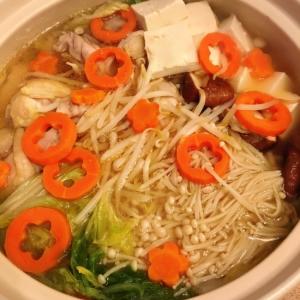 簡単!美味しい☆鶏塩鍋
