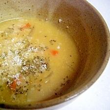 チーズたっぷり^^カレークリームスープ