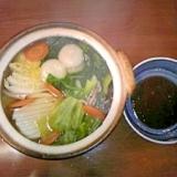 野菜たっぷり☆ヘルシー水餃子鍋