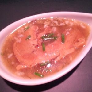 【簡単・風邪予防】朝からぽかぽか 角煮のお粥