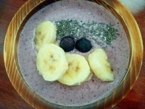 朝食に♪スーパーフードヨーグルト