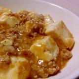 我が家の簡単麻婆豆腐☆食べるラー油使用