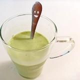ゴクゴク飲めちゃう抹茶青汁ミルク