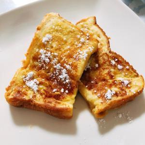 豆乳でフレンチトースト