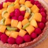 フルーツたっぷり♡卵乳大豆なしのタルトケーキ