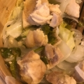 シリコンスチーマーで簡単★蒸し鶏と温野菜
