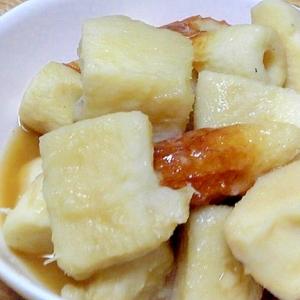 長芋と竹輪の煮物