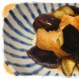 なすと仙台麩の煮物