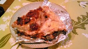 鯛のお頭の塩麹山椒・葱味噌焼き