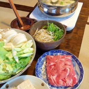 寄せ鍋☆2種類のタレで!