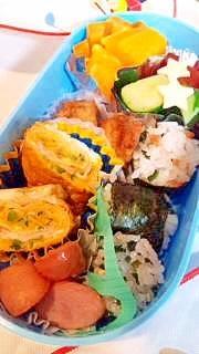 幼稚園のお弁当★おかず★チーズねぎたまご