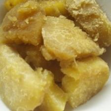 サツマイモの黒砂糖煮