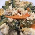 絹豆腐で♪ふわふわゴーヤチャンプルー