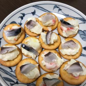 家飲みやおもてなしに!しめ鯖のポテサラカナッペ