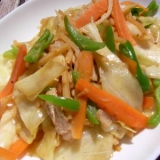 筍と豚の野菜炒め