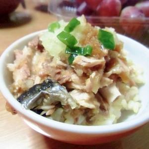 秋刀魚おろしご飯