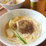 牛スネ肉と大根の柔らか煮込みスープ*柚子胡椒風味