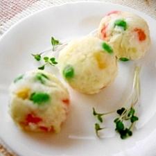 冷凍ミックスベジタブル♪ポテトサラダ