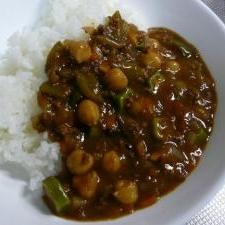 お豆と野菜たっぷりカレー