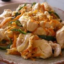 お豆腐チャンプルー
