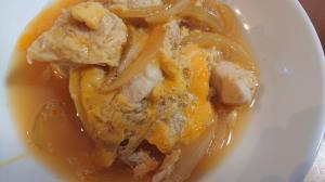 親子丼(鶏ささみの卵とじ)