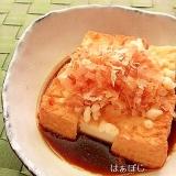 簡単♪厚揚げで揚げ出し豆腐風