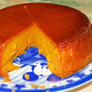 鍋で濃厚かぼちゃプリン