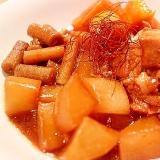カレー用の角切り肉で簡単!圧力鍋10分コロコロ角煮