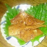 大豆ミートの ニンニク生姜炒めです♪