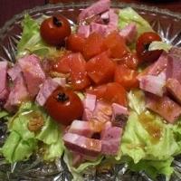 冷たくしてね! 「ローストポークとレタスのサラダ」