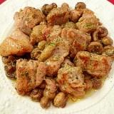 塩麹でイタリアン!鶏肉のガーリックオイル焼き