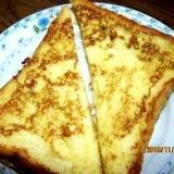 フレンチトースト (我が家の味)