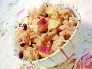 ❤小豆と薩摩芋のお赤飯❤