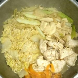 一人分☆胡麻味噌ミルク鍋