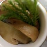 松茸の醤油バター炒め