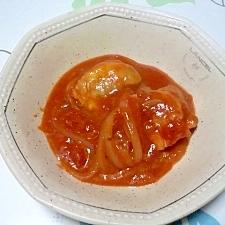 鶏もものトマト煮++