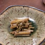山吹と山椒の佃煮