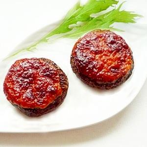 椎茸の明太マヨ焼き