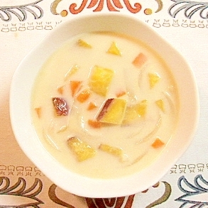 初心者でも簡単にできる さつまいものクリームスープ