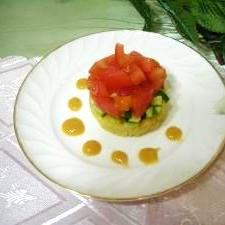 酢みそ仕立てのサラダ