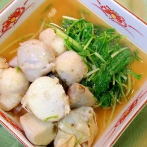 里芋と水菜の煮物