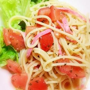 簡単美味しい♪フレッシュトマトの冷製パスタ