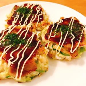 ✻豆腐入りミニお好み焼き関西風✻