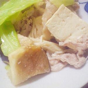 ヘルシー★豚肉&野菜のシンプル煮込み
