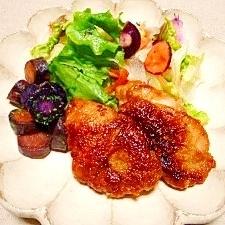 鶏肉☆粒マスタード醤油照り焼き