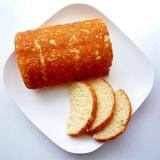 ホットケーキミックスとヨーグルトで しっとりパン